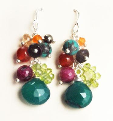 Hunt Gemstone Earrings