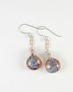 Glass Earrings - November