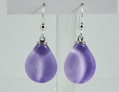 Teardrop Sola Earring - Lilac