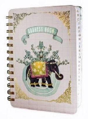 Happy Elephant Address Book