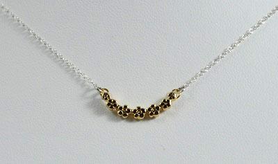 Flora Mixed Metals Necklace