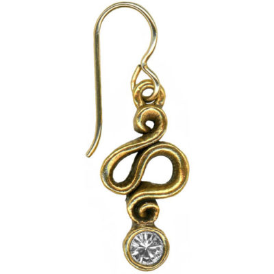 Asp Earring - Gold
