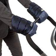 Stroller Hand Muffs Metallic