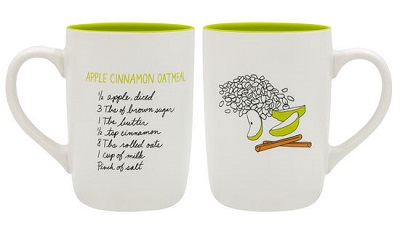 Apple Cinnamon Oatmeal Mug