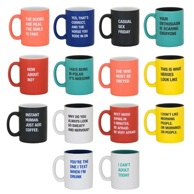 Office Talk Mugs