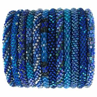 Roll-on Bracelets - Cobalt
