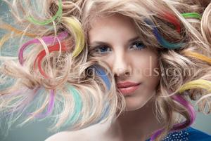 Hair Coloring Rub - Blue