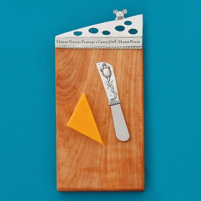 Cheese Mini Board with Small Pate Knife