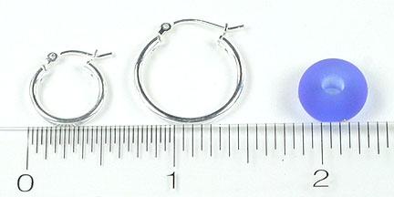Hoop Earrings - Silver or Gold