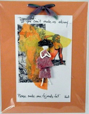 "Handmade Paper Wall Plaque - ""Dear Lord..."""