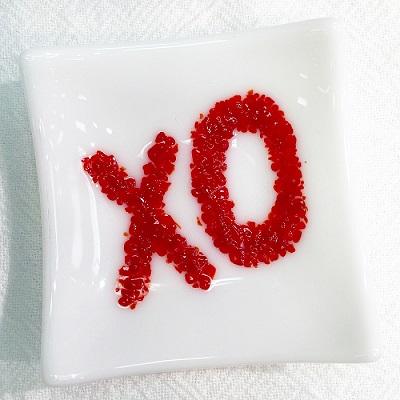XO Glass Mini Tray