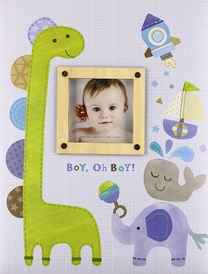Boy, Oh Boy Memory Book
