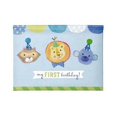 Boy Pop Up Brag Book - First Birthday