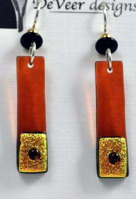 Earrings - Fused Glass PD