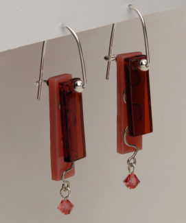Earrings - Fused Glass WF
