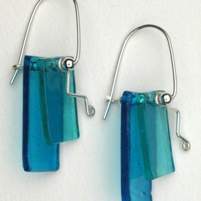 Earrings - Fused Glass ZLB