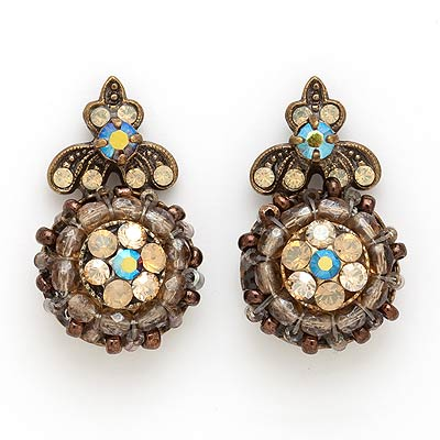 Vintage Topaz Earrings