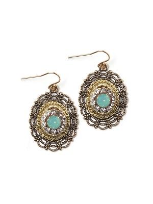 Lavish Lace Earrings