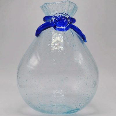 Shellbag Hot Bubbled Glass Vase