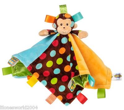 Taggies Dazzle Dots Monkey Blanket