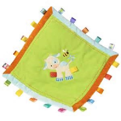 Taggies Casey Cow Cozy Blanket