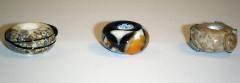 Flamework Glass Beads - 74-88-98