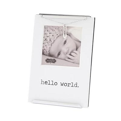 Hello World Clip Baby Frame
