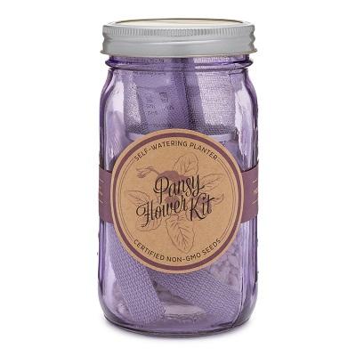 Garden Jar - Pansy