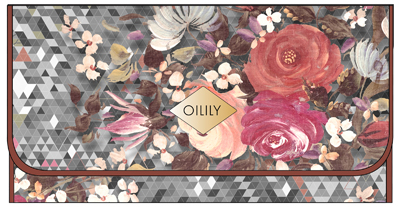 Oilily DF Brush and Pencil Organizer