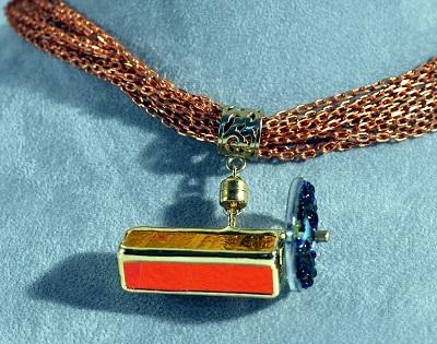 Copper Kaleidoscope Necklace