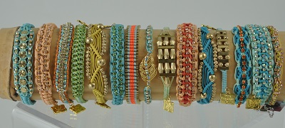 Surf Woven Bracelets by Rose Gonzales