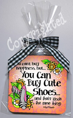 Happiness is Cute Shoes Coaster