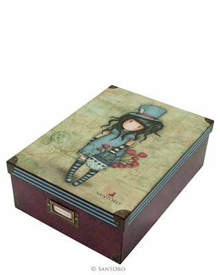The Hatter Storage Boxes by Gorjuss
