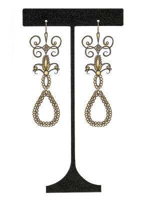Birthday Card - Swanky Earring Stand
