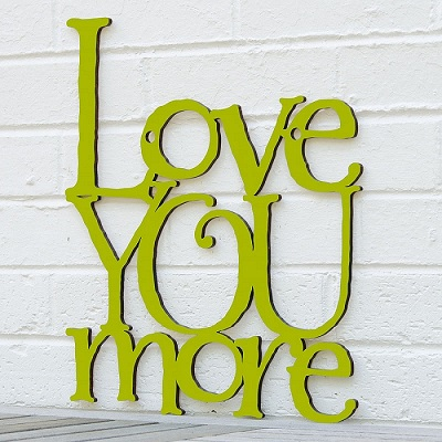 Love You More\
