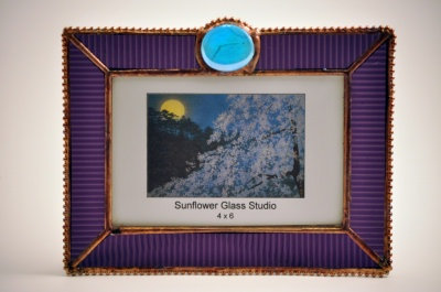 Nugget Glass Picture Frame