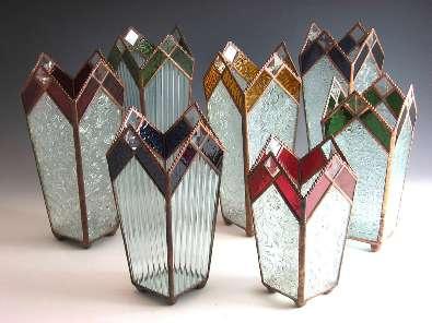 """Glass Vase - 10"""""""
