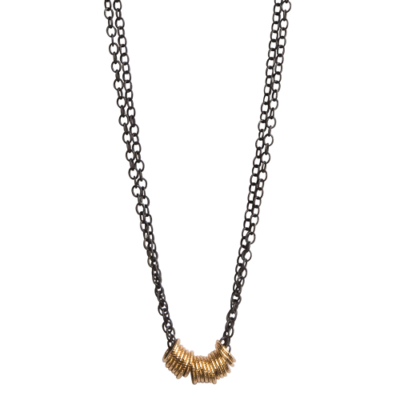 Olivia Running in Circles Necklace