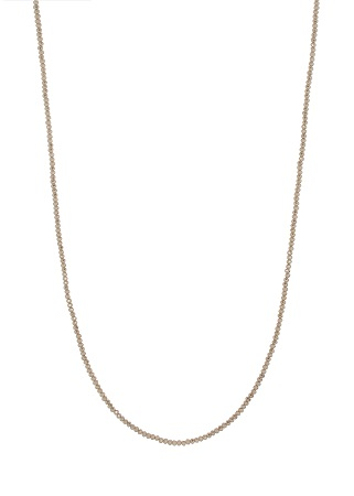 Swarovski crystal long strand necklace