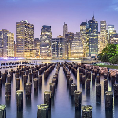 NYC Skyline Small Puzzle - by Zen