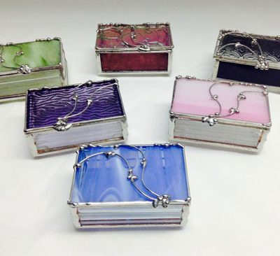 Stained Glass Decorative Boxes