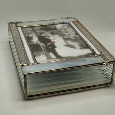 Clear Stained Glass Picture Box