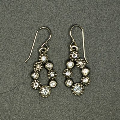 Lei Silver Crystal Earring by Rook + Crow