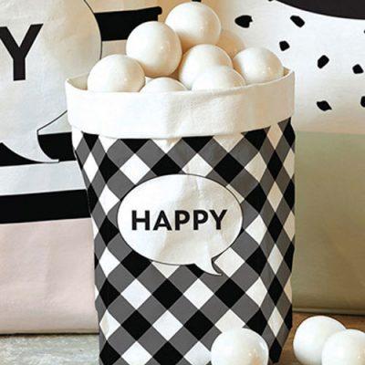 Small Paper Bag - Happy