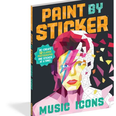 Paint by Sticker - Music Icons