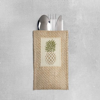 Pineapple Silverware Pouch