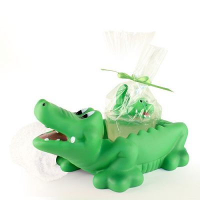 Alligator Soap & Holder Gift Set